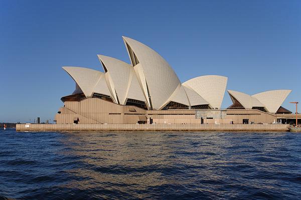 دار أوبرا سيدني في استراليا Sydney opera house Sails